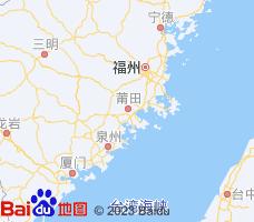 莆田电子地图