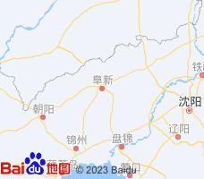 阜新电子地图