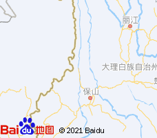 怒江电子地图