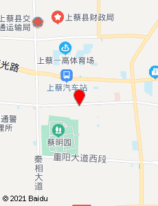上蔡旅游地图