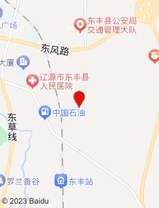 东丰旅游地图