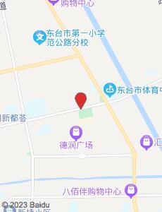 东台旅游地图