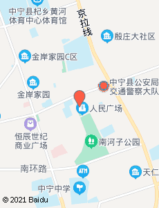 中宁旅游地图