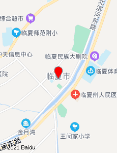 临夏旅游地图