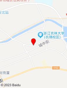 临安旅游地图