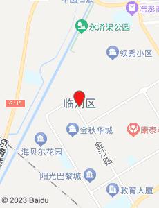 临河旅游地图