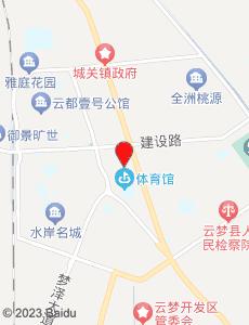 云梦旅游地图