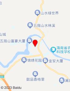 五指山旅游地图