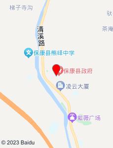 保康旅游地图