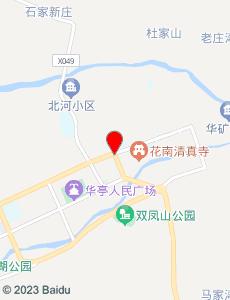 华亭旅游地图