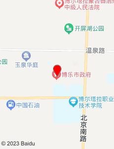 博乐旅游地图