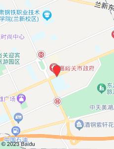 嘉峪关旅游地图