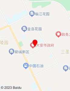 大安旅游地图