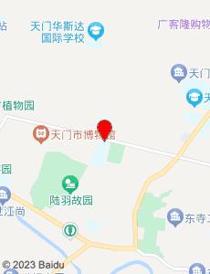 天门旅游地图