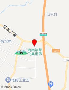 定安旅游地图