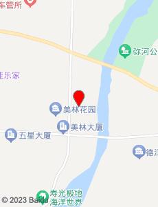 寿光旅游地图