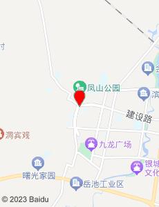 岳池旅游地图