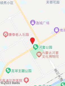 巴彦淖尔旅游地图