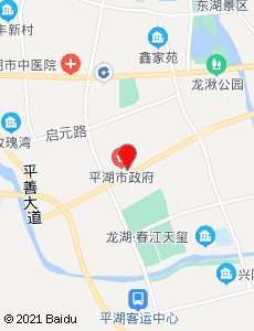 平湖旅游地图