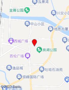 广汉旅游地图