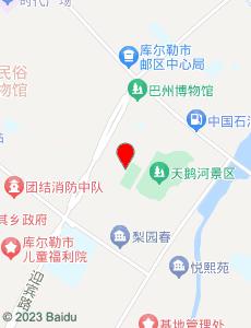 库尔勒旅游地图
