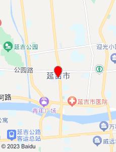 延吉旅游地图