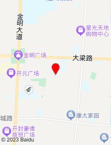 开封旅游地图