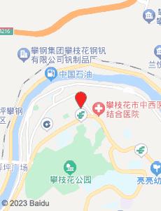 攀枝花旅游地图