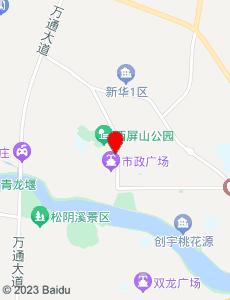 松阳旅游地图