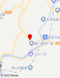 永定旅游地图