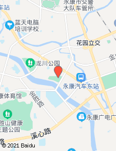永康旅游地图