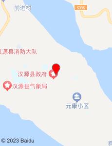 汉源旅游地图