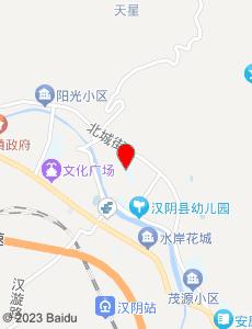 汉阴旅游地图