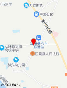 江陵旅游地图