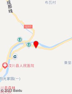 汶川旅游地图
