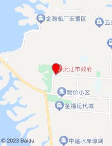 沅江旅游地图