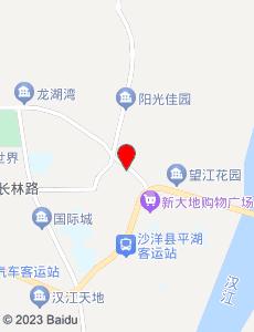沙洋旅游地图