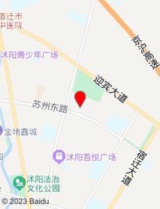 沭阳旅游地图