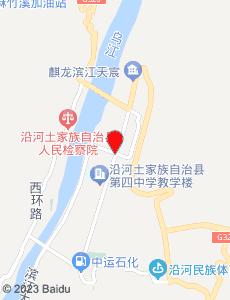 沿河旅游地图