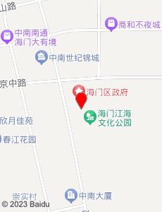海门旅游地图