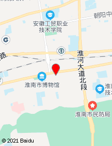 淮南旅游地图
