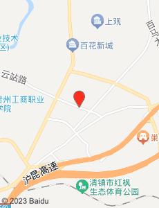 清镇旅游地图