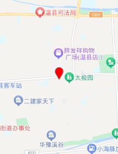 温县旅游地图