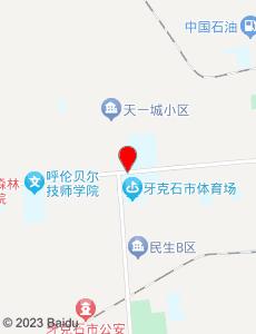 牙克石旅游地图