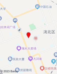 白城旅游地图