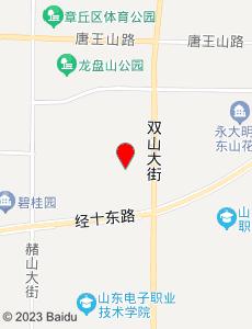 章丘旅游地图