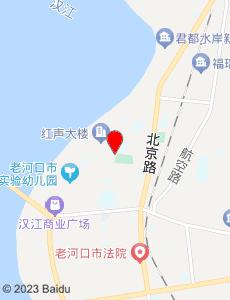 老河口旅游地图
