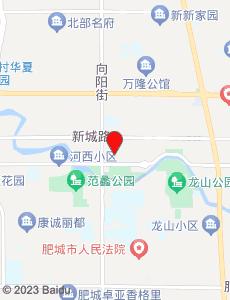 肥城旅游地图