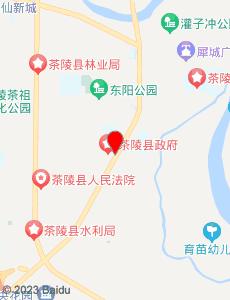 茶陵旅游地图