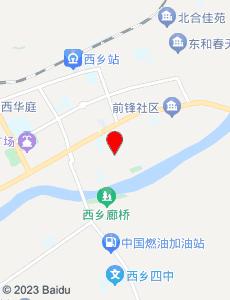 西乡旅游地图